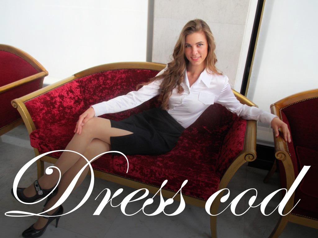 dress cod дресс код девушка на диване five promotion
