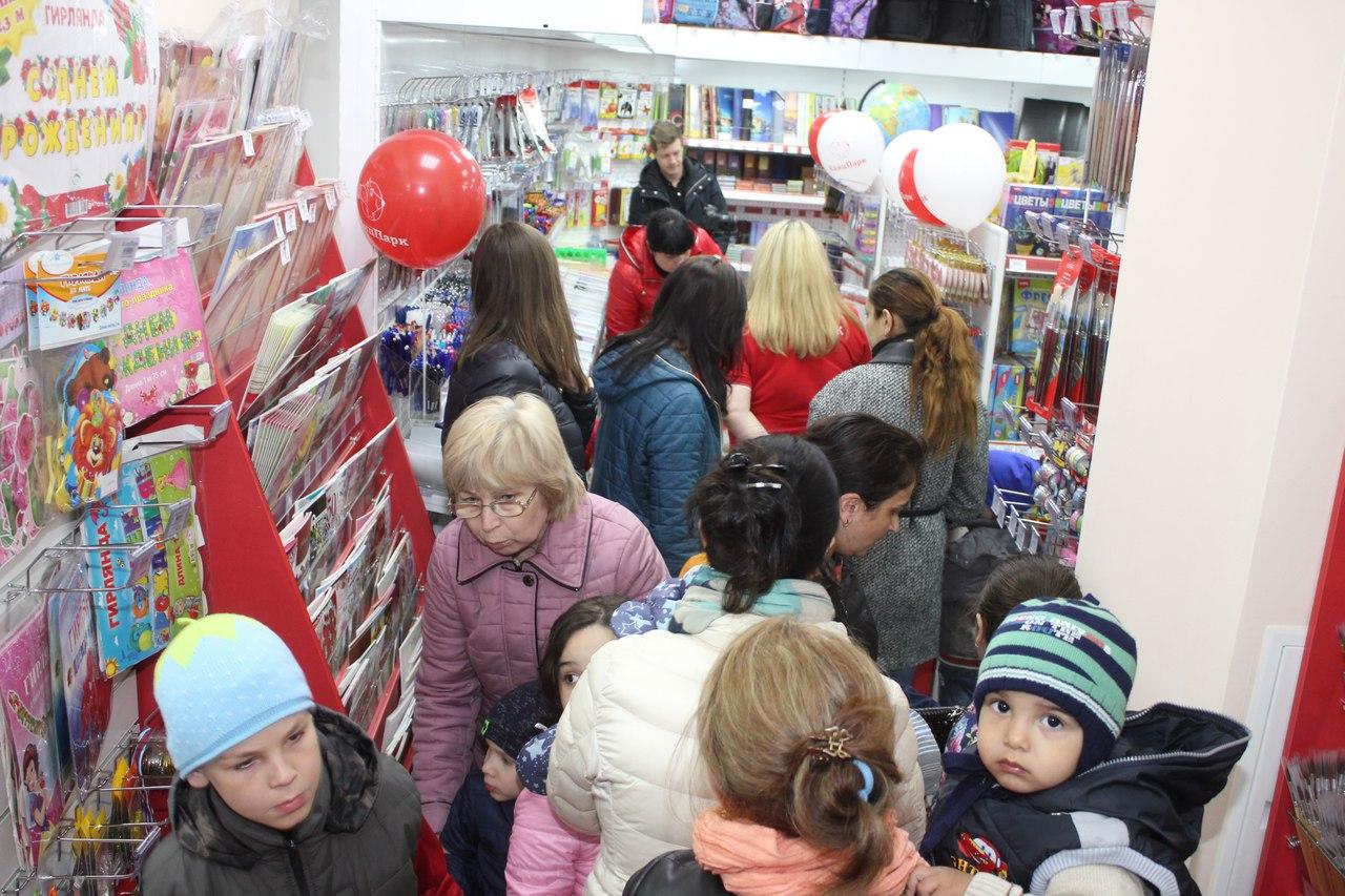 , Открытие магазина на примере сети канцелярских магазинов КанцПрак, Московская область пгт Октябрьский.