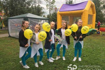 день города москвы, промо акция, раздача шаров и листовок