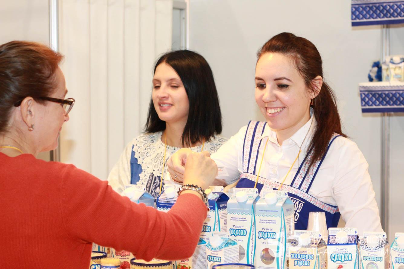 , Дегустация «Рузское молоко» Крокус Экспо