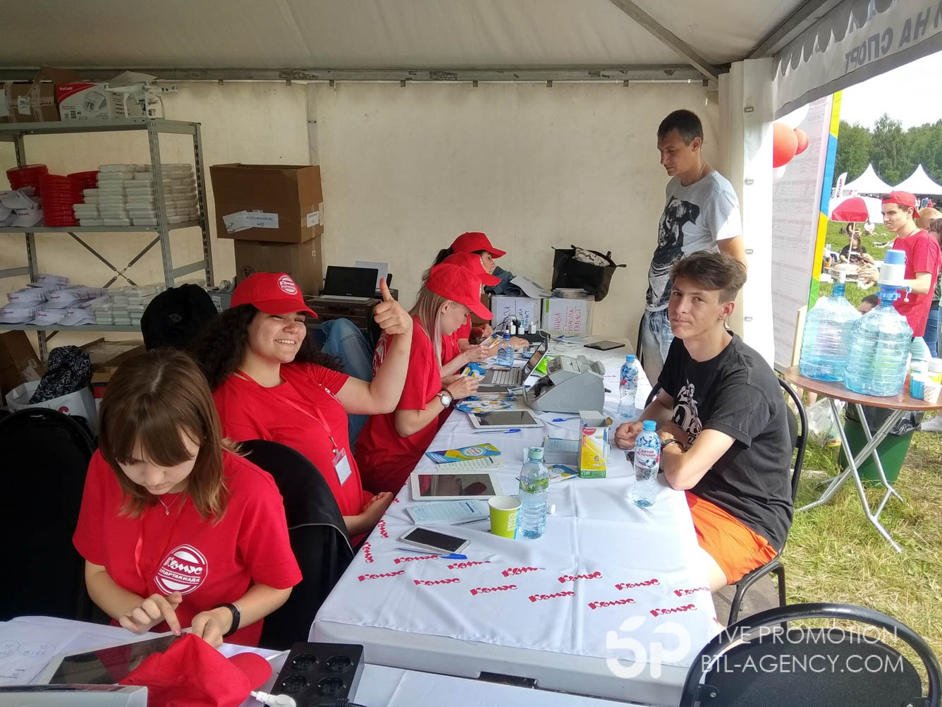регистрация участников, промоутеры, фестиваль