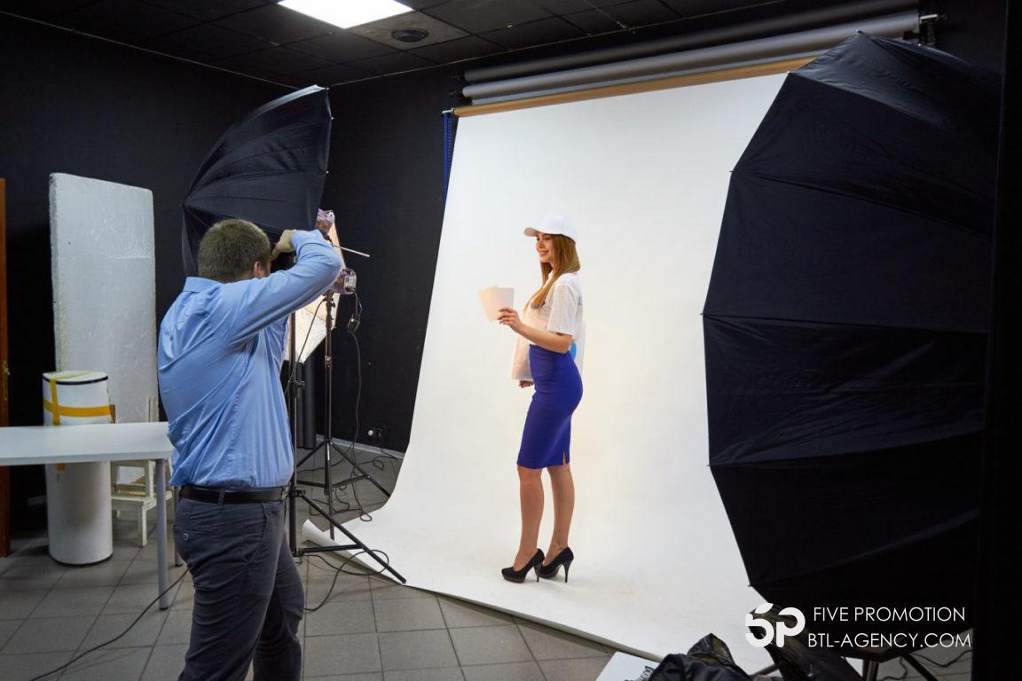 , Фотосессия для Five Promotion