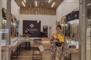 , Костюмированная промо-акция для магазина японских ножей TOJIRO, август 2020