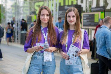 , Промоутеры на выставку Startup Village 21 в Сколково